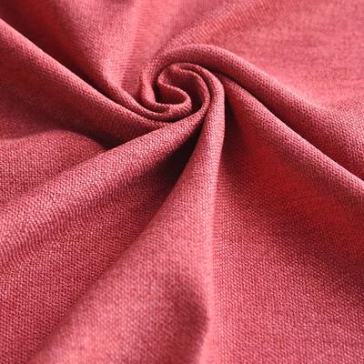 Polyester upholstery plain Fabric for sofa and Home Textile