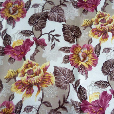 Polyester Printed Sofa velvet Fabric Multicolor for Sofa and Home Textile