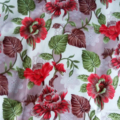 100% polyester Printing fabric for home textile and furnitures