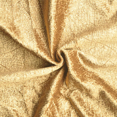 Polyester embossed velvet Fabric for upholstery and home textile
